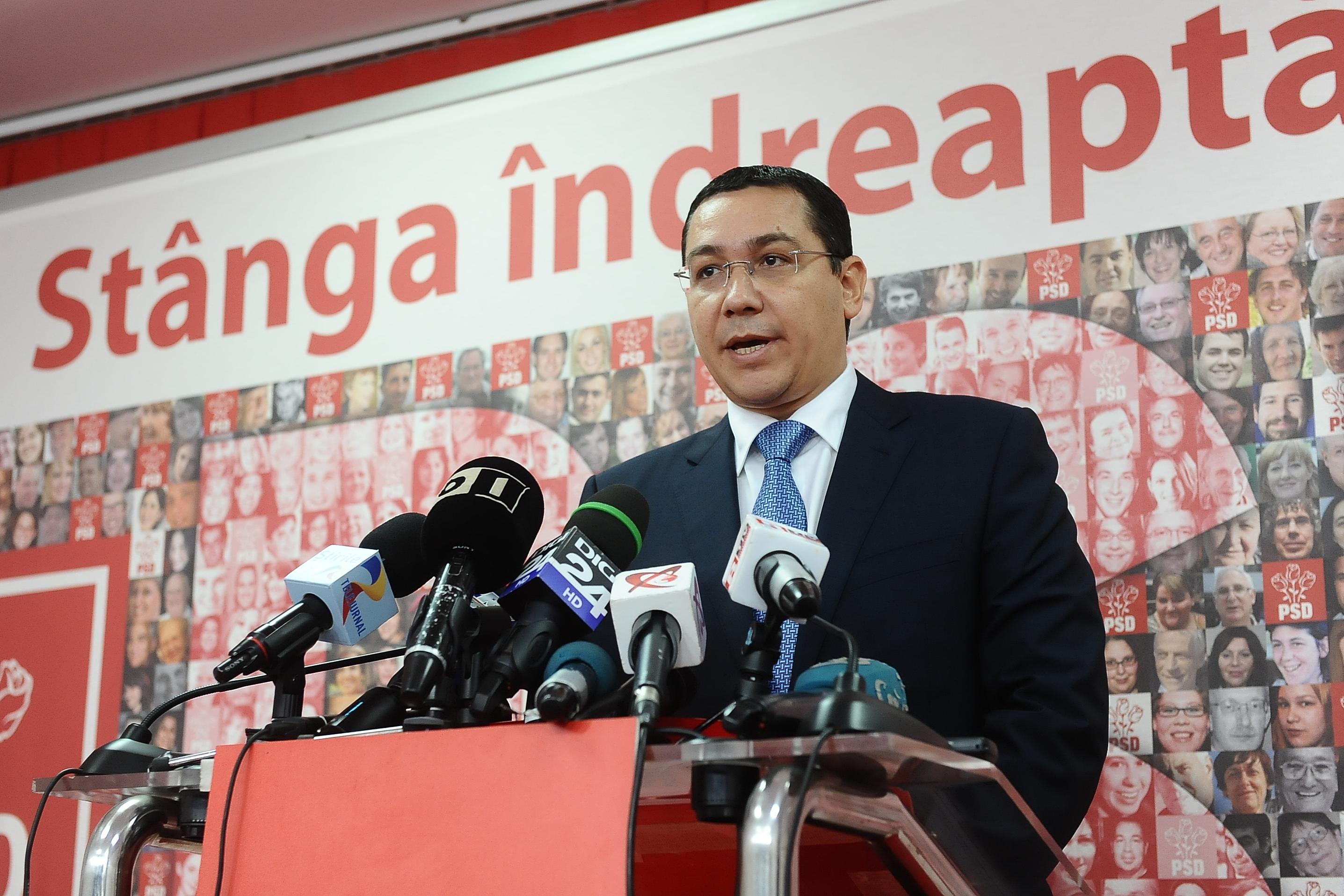 """Tehnocratul"" Ponta si pomenile electorale"