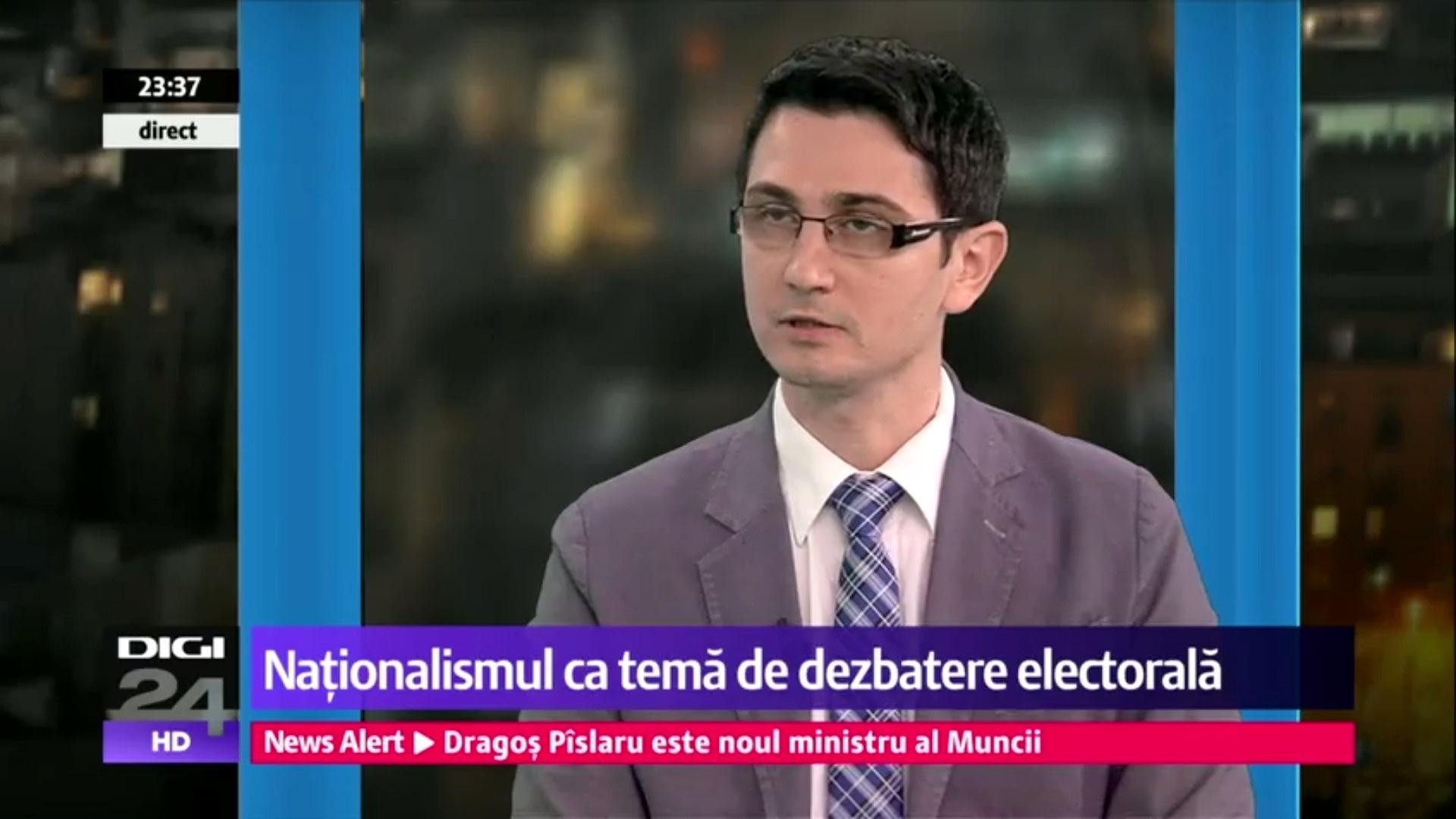 Nationalismul, tema de campanie pentru Primaria Bucuresti