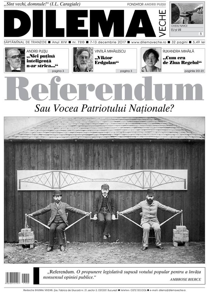 Populistii si referendumul ca tehnica a democratiei iluzorii