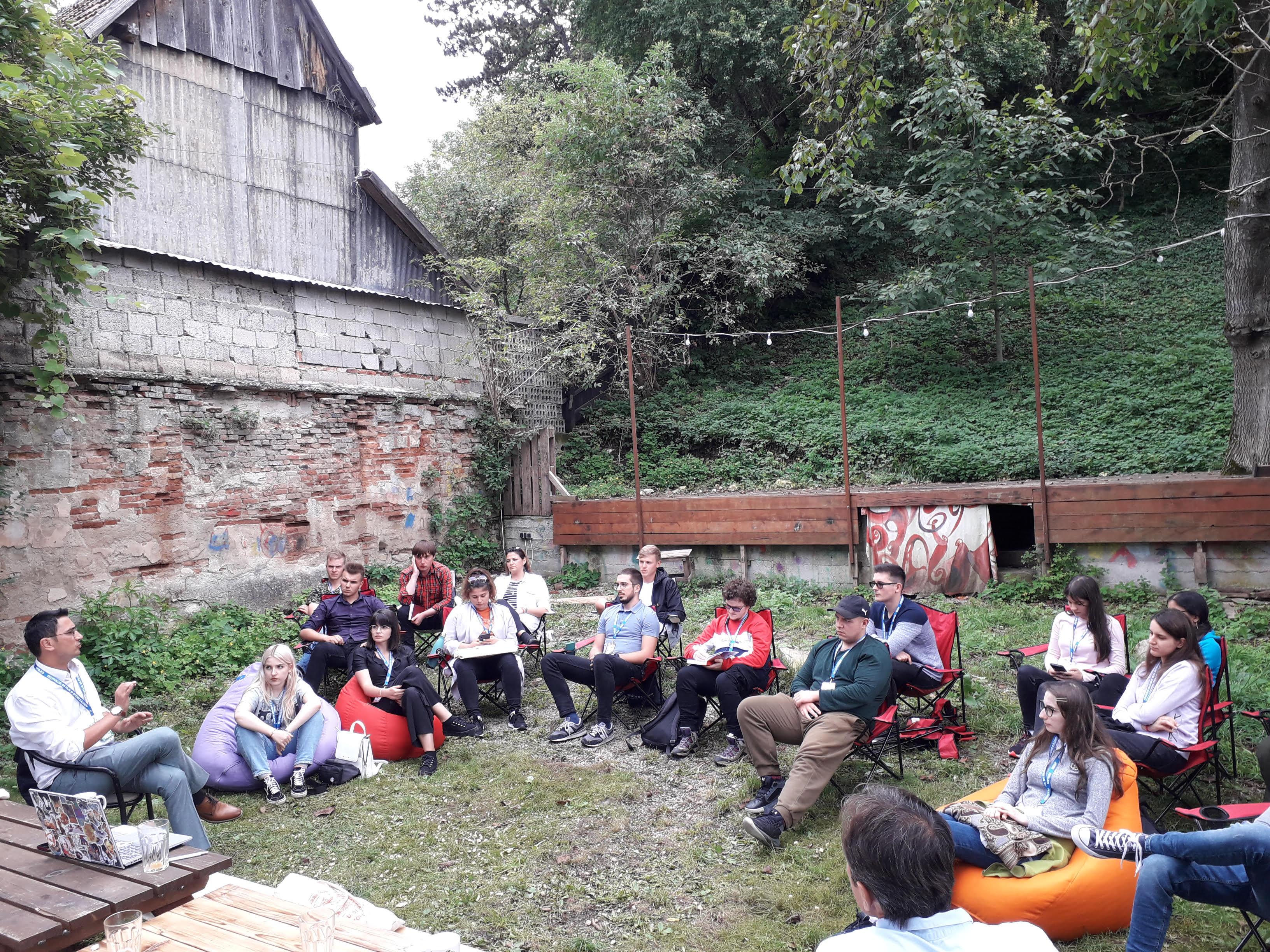 Training de Comunicare la Festivalul de Film și Istorii de la Râșnov