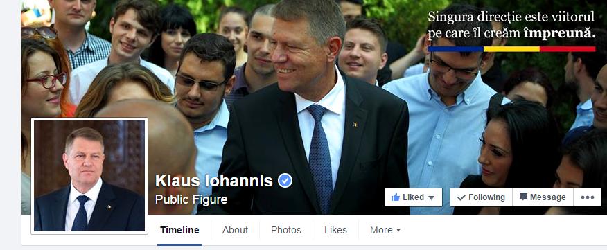 Iohannis si Ponta pe Facebook. Doua stiluri de comunicare 2.0